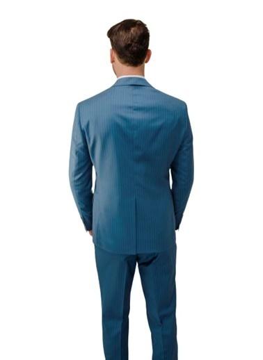 Comienzo Takım Elbise Mavi